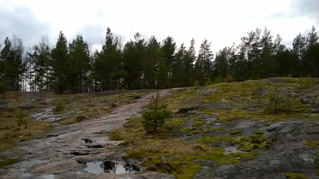 Kallioista polkua