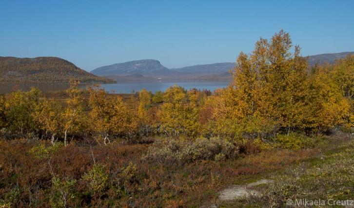 Saana-tunturi ja Kilpisjärvi