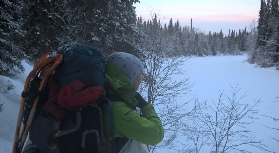 Ahaa-elämyksiä talviretkistä javarusteista