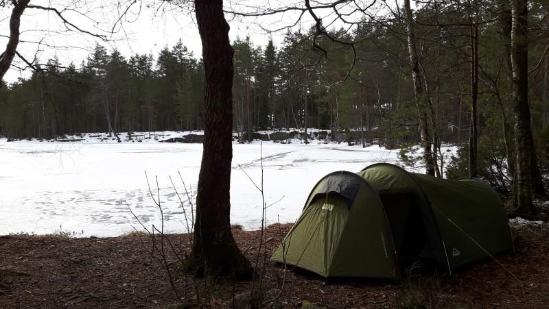 Ensimmäinen lahjaksi saamani McKinleyn teltta on palvellut hyvin lyhyemmillä retkillä.