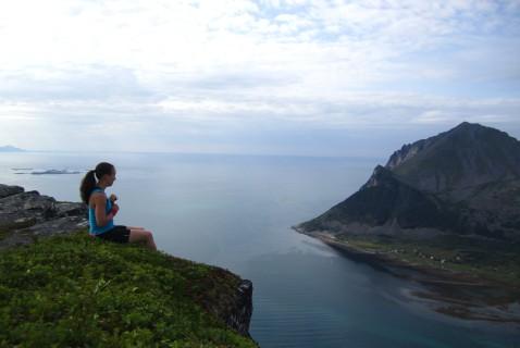 Ensimmäisen Pohjois-Norjan reissun aikana suuntasimme Senjan saarelle. Maisemat olivat hullun hienot.