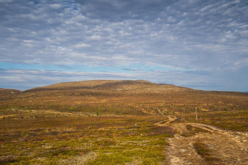Vaeltajaa hellitään hienoilla maisemilla Hetta-Pallas-reitillä.