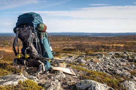 Pohjoisen tunturiunelmaa soolovaeltaen Hetta-Pallas-reitillä