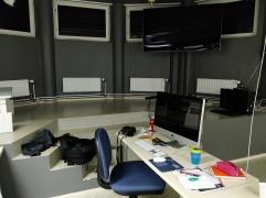 Tulevan vuoden työpisteeni mac-luokassamme.
