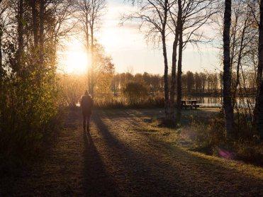 Valokuvauslinjalla tottuu aikaisiin aamuihin. Useasti on herätty jo ennen auringonnousua hyödyntämään kauneimmat hetket valokuvausta varten.